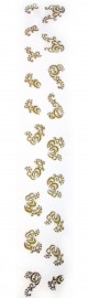 Gold Sticker Strip #4
