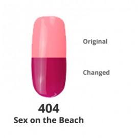 Temperature Changing G-Polish no.404 - Sex on the Beach 15ml