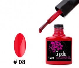 G-Polish Colour no.8 - Raspberry 10ml