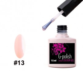 G-Polish French Colour no.13 - Gentle Pink Mother Of Pearl 10ml