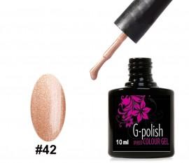 G-Polish Colour no.42 - Burnt Sienna 10ml