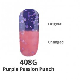 Temperature Changing G-Polish no.408G - Purple Passion Punch 15ml