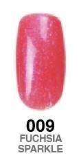 The Blues Collection G-Polish no.009 - Fuchsia Sparkle 15ml