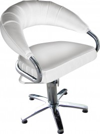 Stylish Client Chair - white