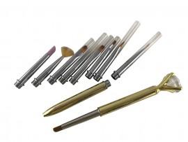 Gel Brush Multi-tool 9 in 1