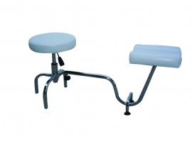 Spa Pedicure Stool & Leg Stand