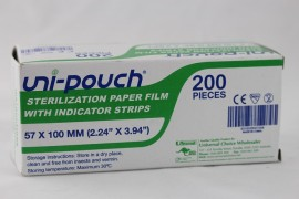 Uni-Pouch Self Seal Sterilisation Pouches 57x100mm - 200pcs