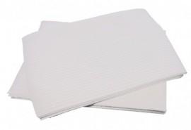 Acrylic Bibs 4ply - White 100pcs