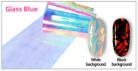 Rainbow Glass Foil - Blue
