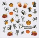 Halloween Sticker - Spiders & Pumpkins