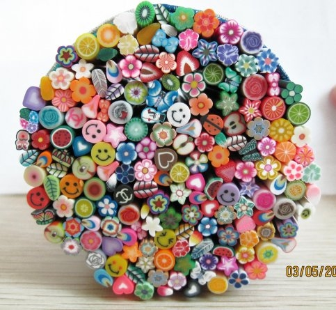 Fimo Nail Art Sticks