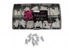 Stiletto Tips - White 200pcs