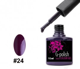 G-Polish Colour no.24 - Plum 10ml