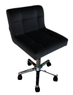 Luxurious Salon Master Chair/Stool - Black