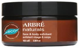 Arbré Naturals Face & Body Exfoliant 100ml