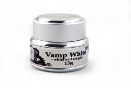 Nail Art Gel - Vamp White