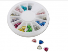 Triangle Rhinestones - 36pc Wheel